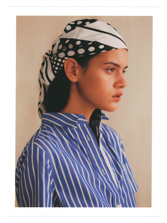 SACAI dress from Parlour X; OROTON scarf.
