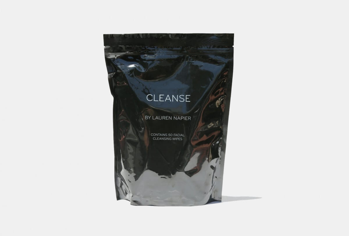 lauren napier cleansing wipes