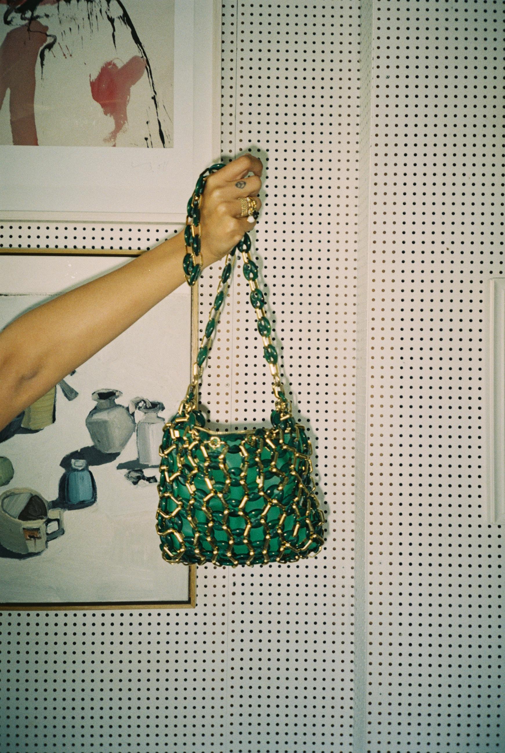 anna feller green bag