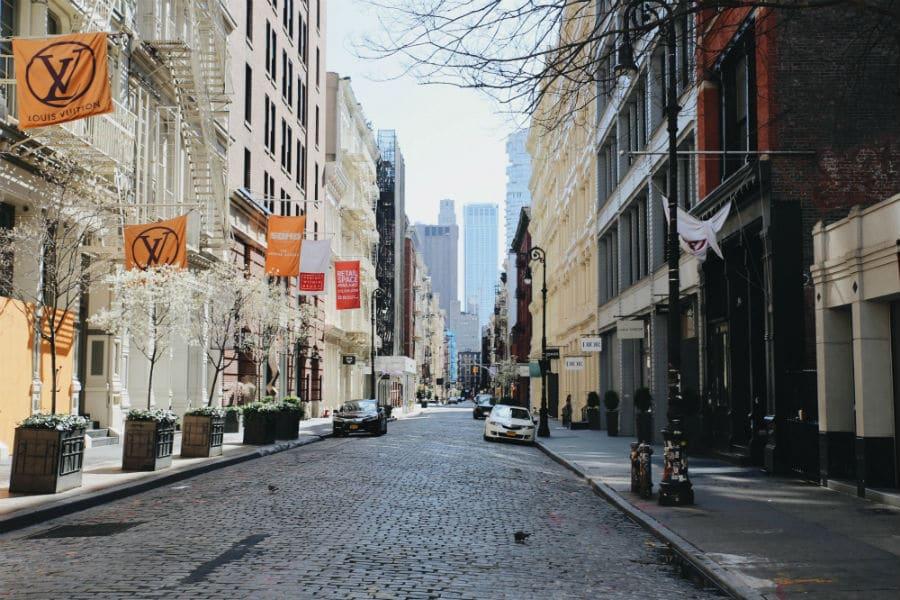 new york during the coronavirus pandemic