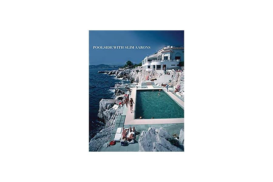 Poolside with Slim Aarons book