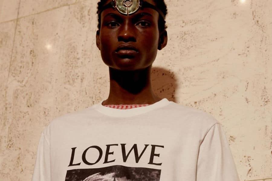Fashion Model wearing LOEWE
