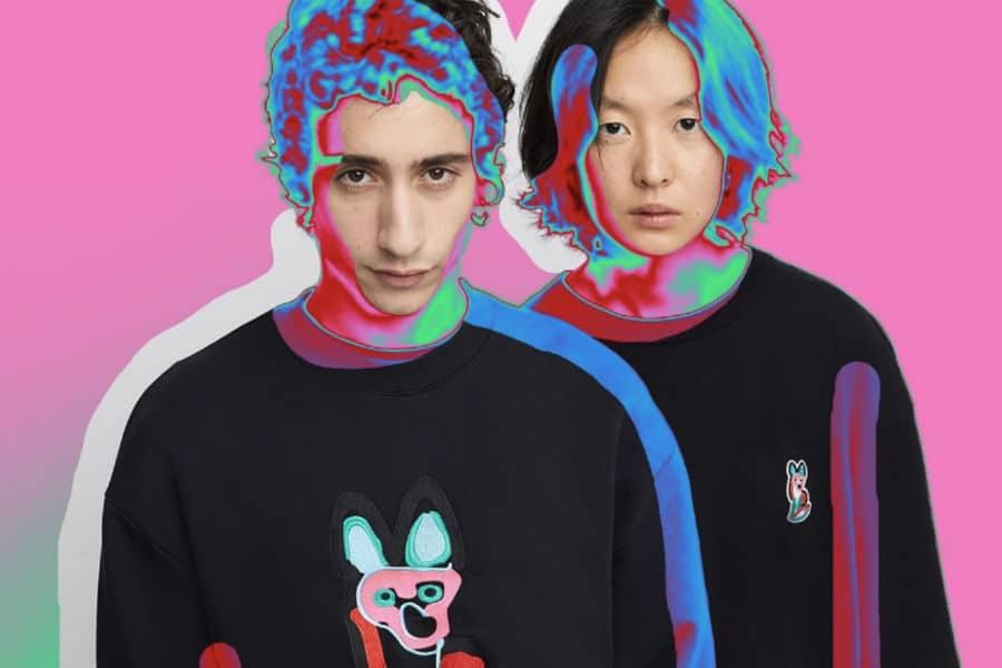 Maison Kitsune loungewear