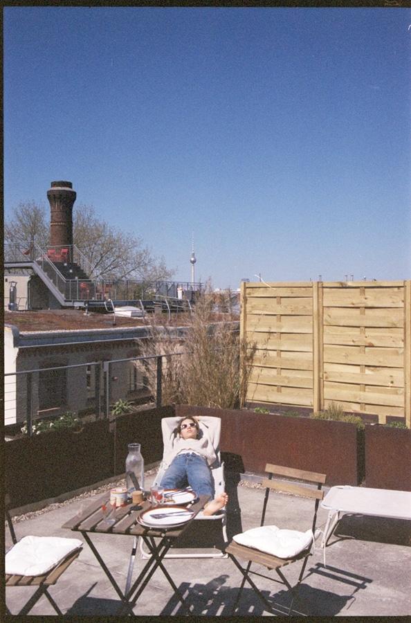 Constanze Saemann lounging by Ryan Brabazon