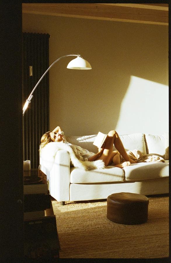 Constanze Saemann at home by Ryan Brabazon