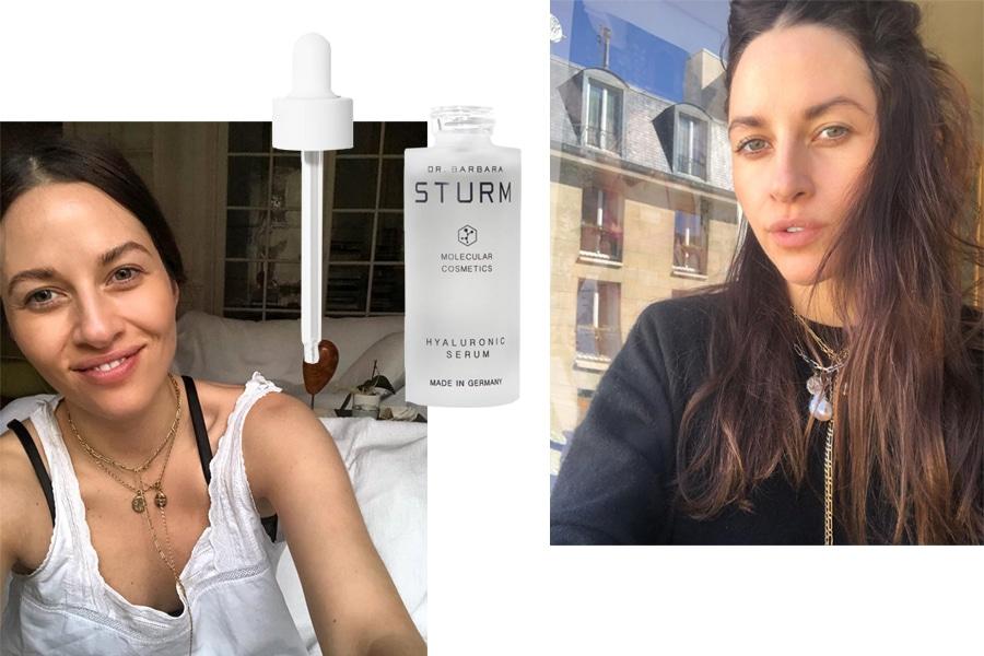 Kym Ellery beauty routine