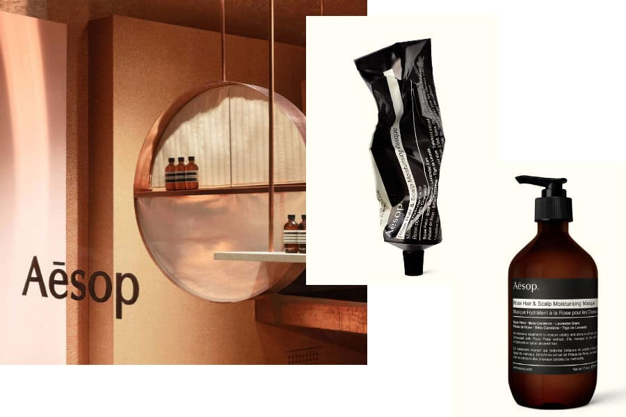 Aesop Rose Hair and Scalp Moisturising Masque