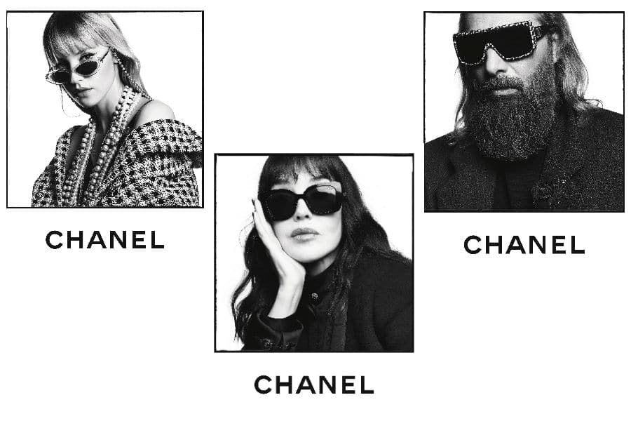chanel muses eyewear 2020 campaign