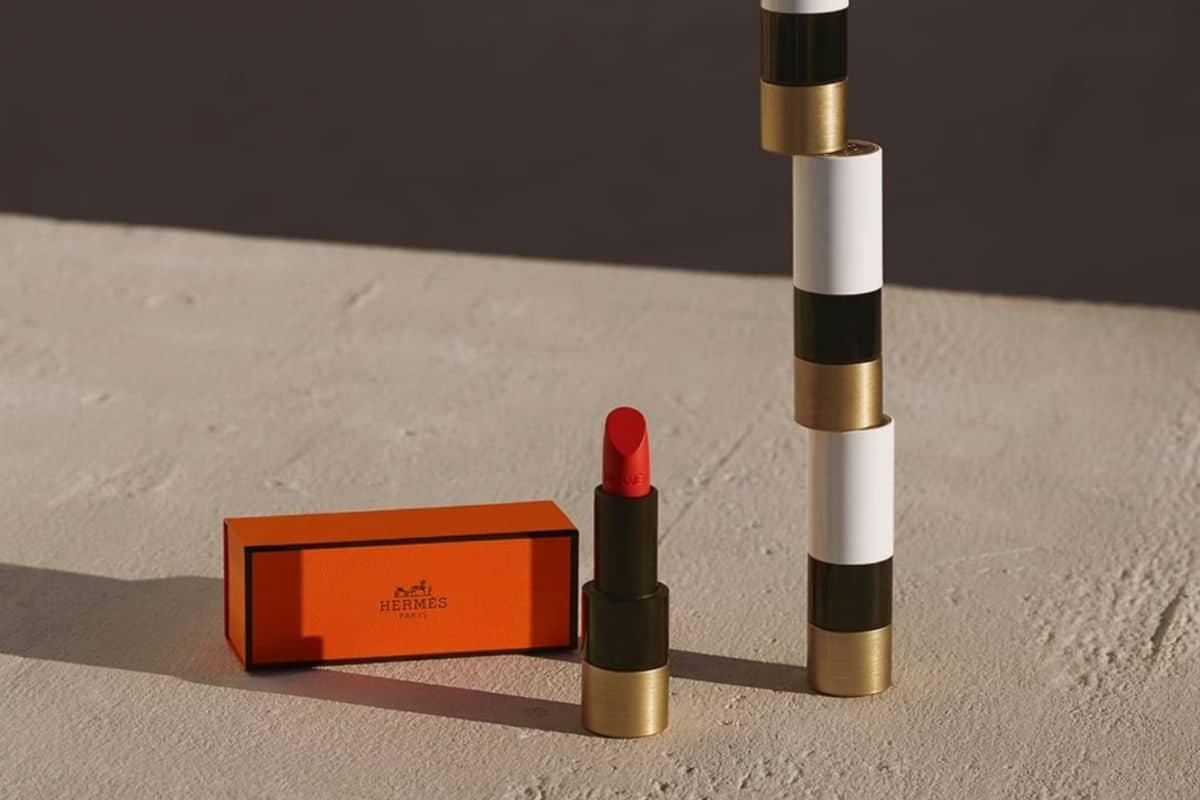 Rouge Hermès lipstick