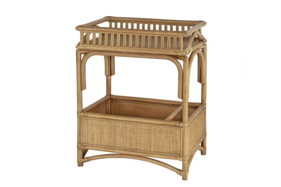 Panama bar cart