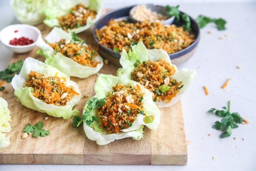 Plant Based Carrot Quinoa Sung Choi Bao