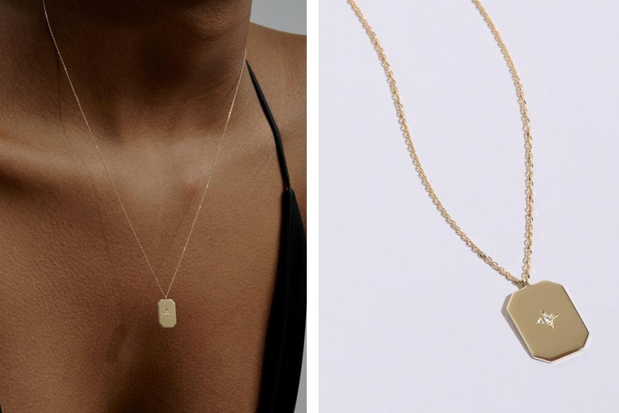 Sarah & Sebastian Insignia Diamond necklace