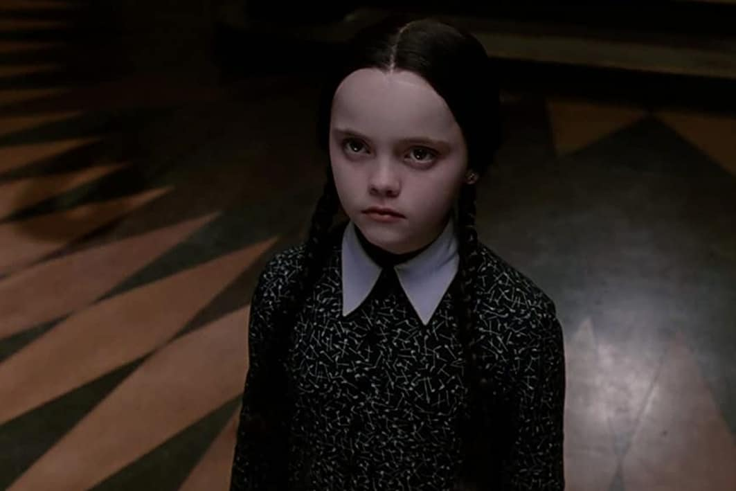 the addams family tim burton