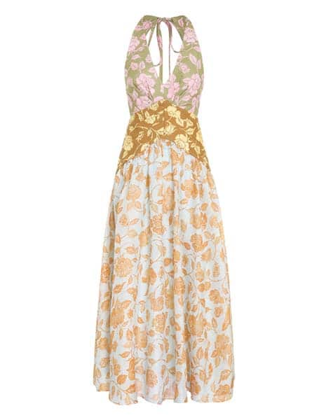 Zimmermann The Lovestruck V-Neck Midi