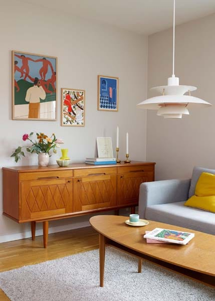 add colour living room