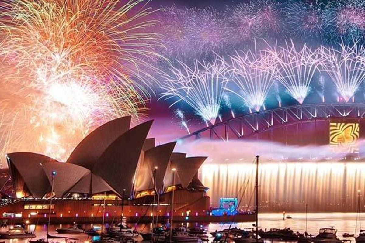 Sydney NYE fireworks 2020