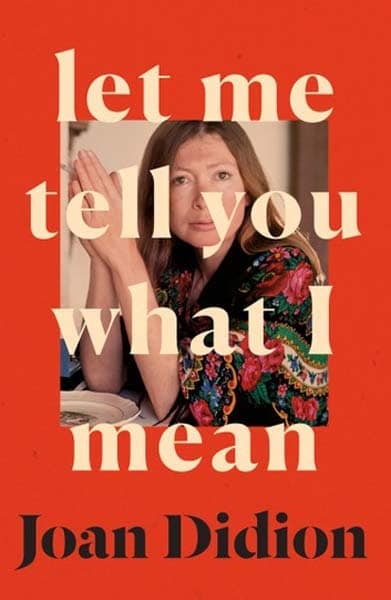 Joan Didion book