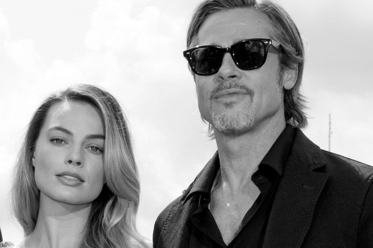 Margot Robbie Brad Pitt Babylon