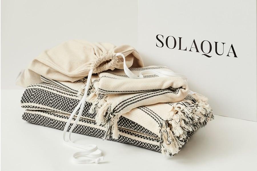 SOLAQUA beach towels