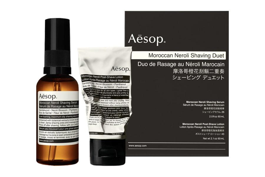 Aesop shaving kit