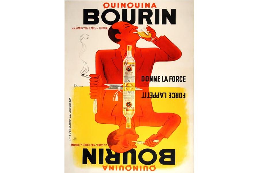 Bourin Vintage wall art