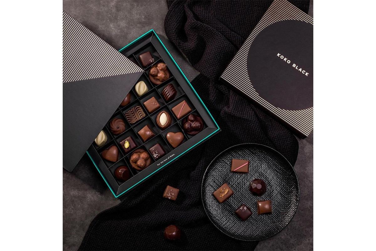 koko black custom chocolates