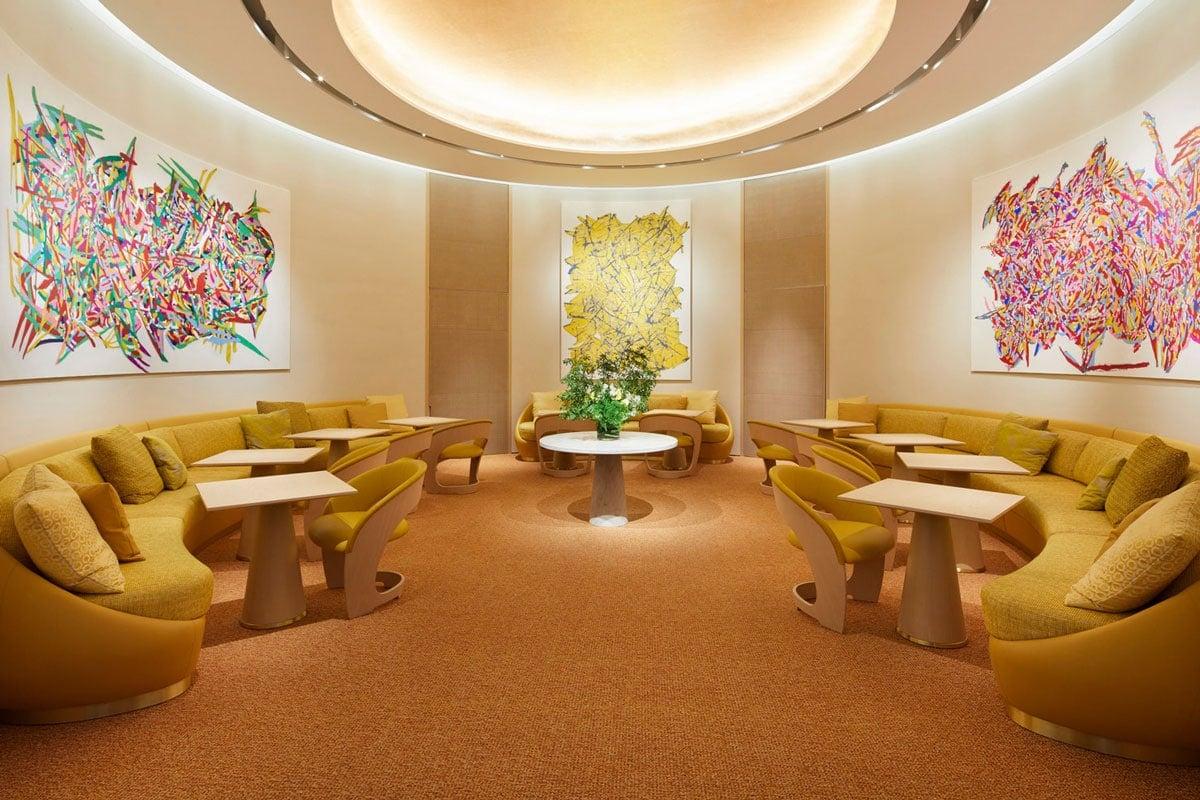 Louis Vuitton cafe restaurant
