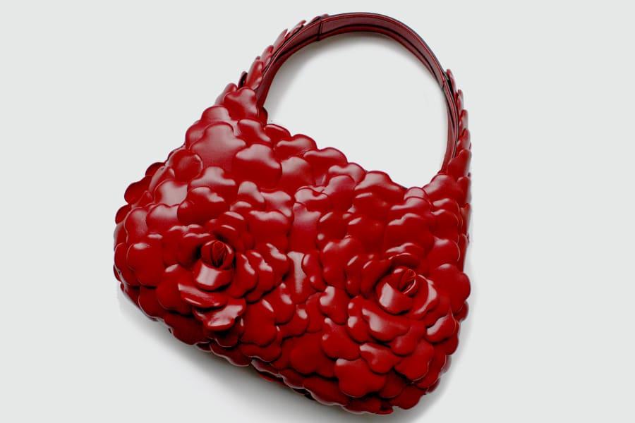 colourful handbags
