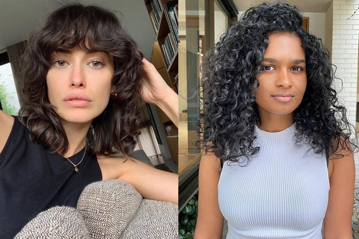 Curly hair 2021
