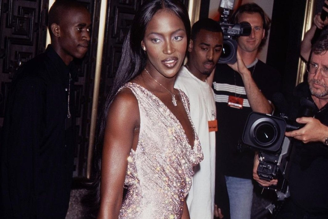 Naomi Campbell's 90s style