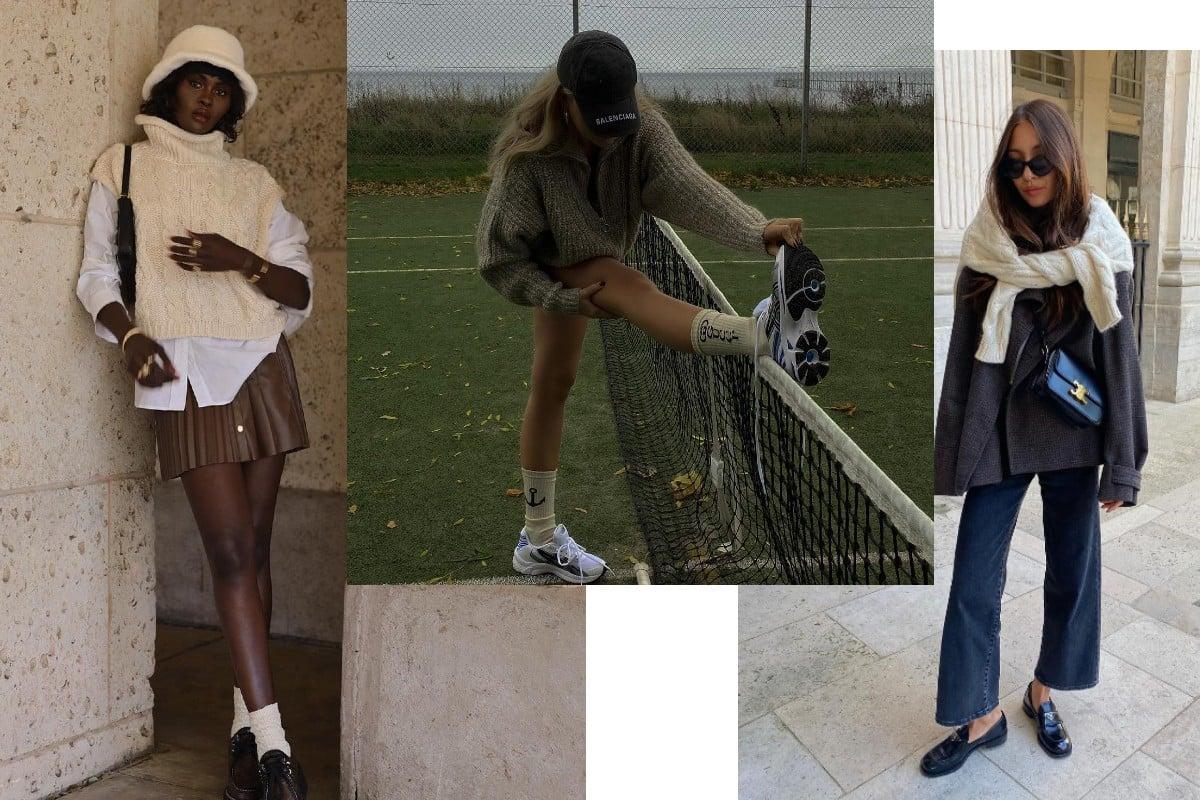 sporty preppy fashion trend