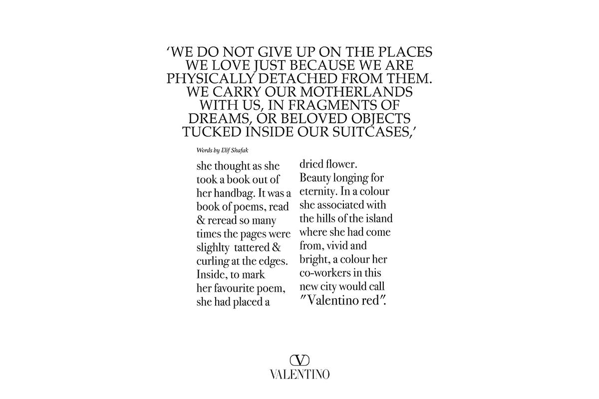 Valentino FW 21 Text