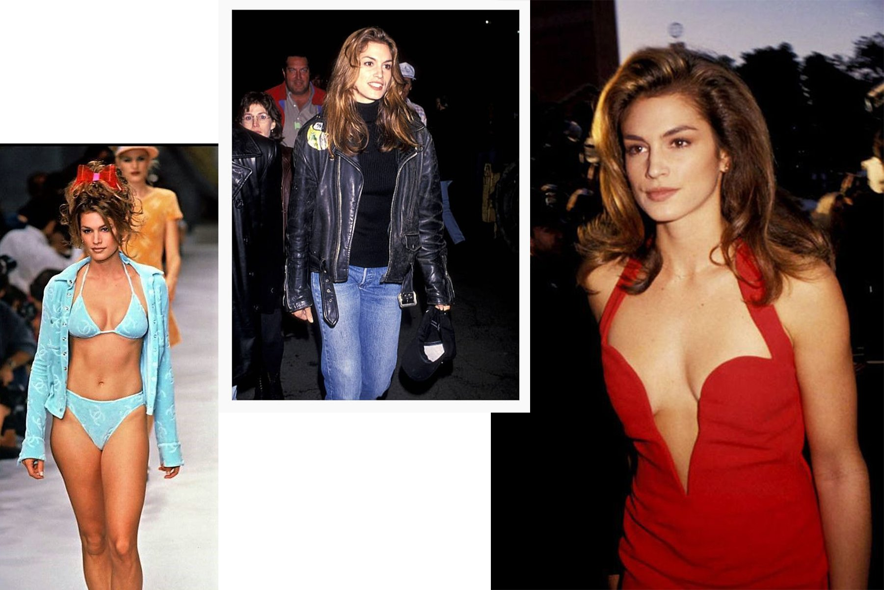 Cindy crawford 90s style