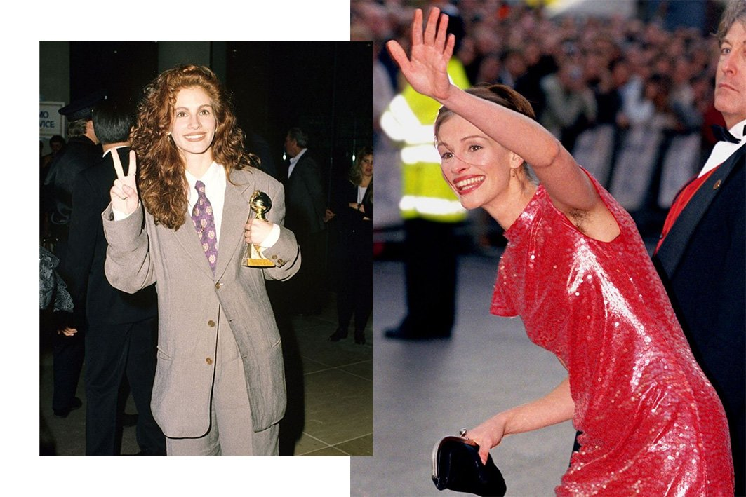 julia roberts 90s style