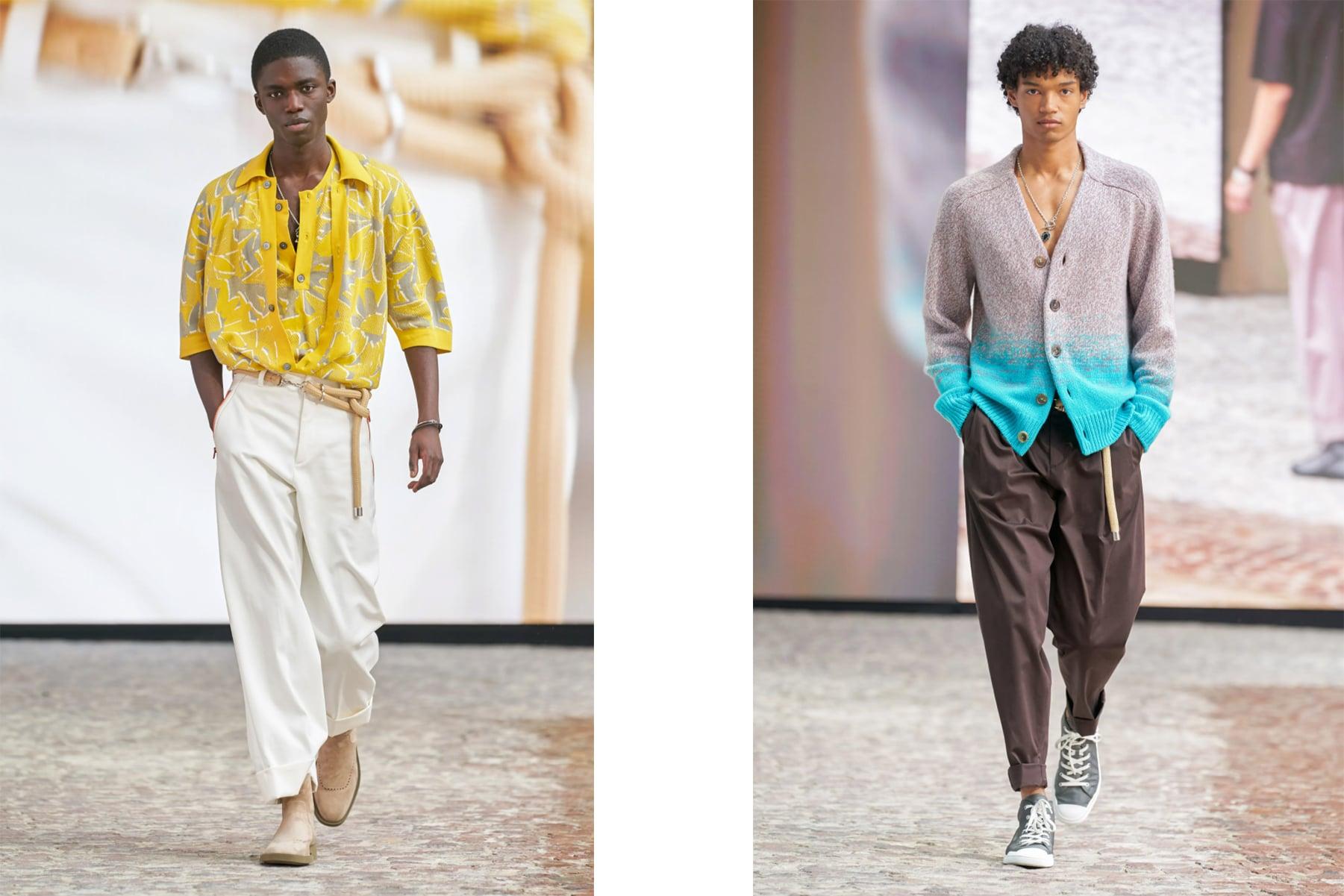 Hermès SS22 menswear