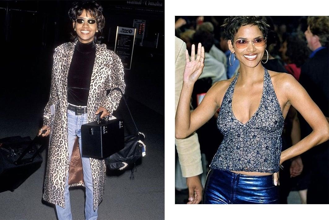 Halle Berry's 90s style