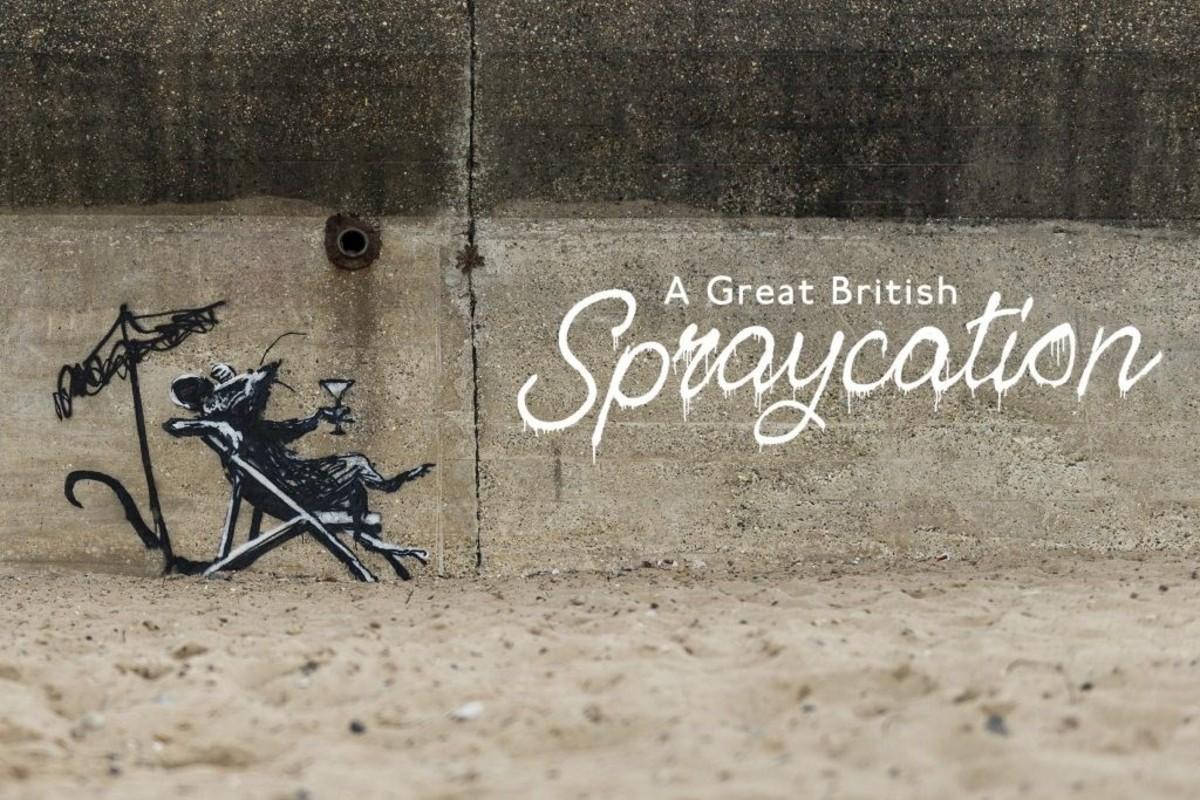 Banksy A Great British Spraycation