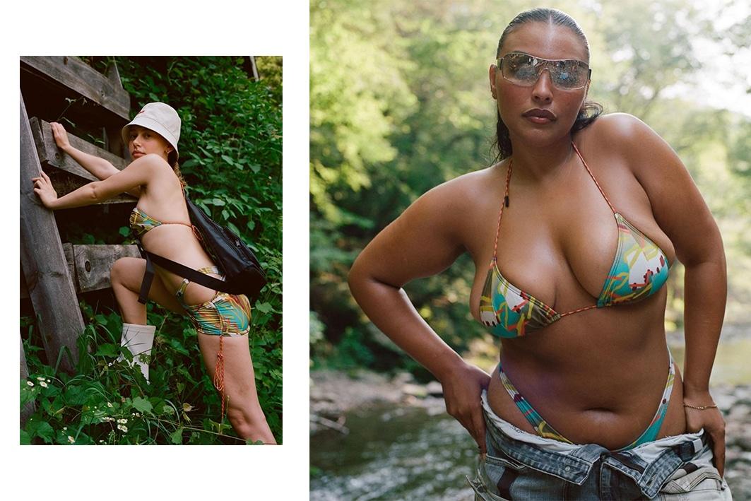 string bikinis swimwear