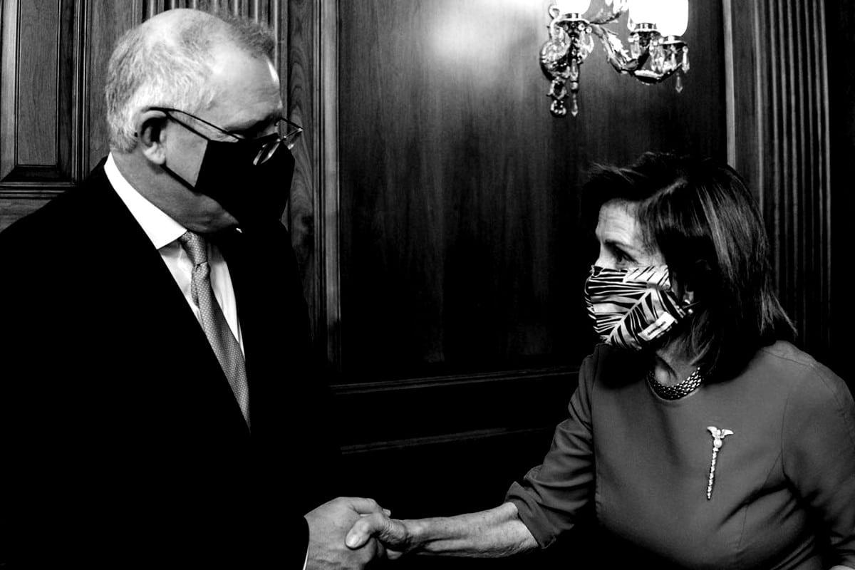Nancy Pelosi climate change Australia