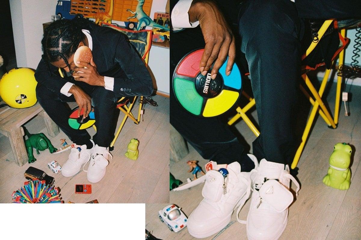 A$AP Rocky Prada adidas