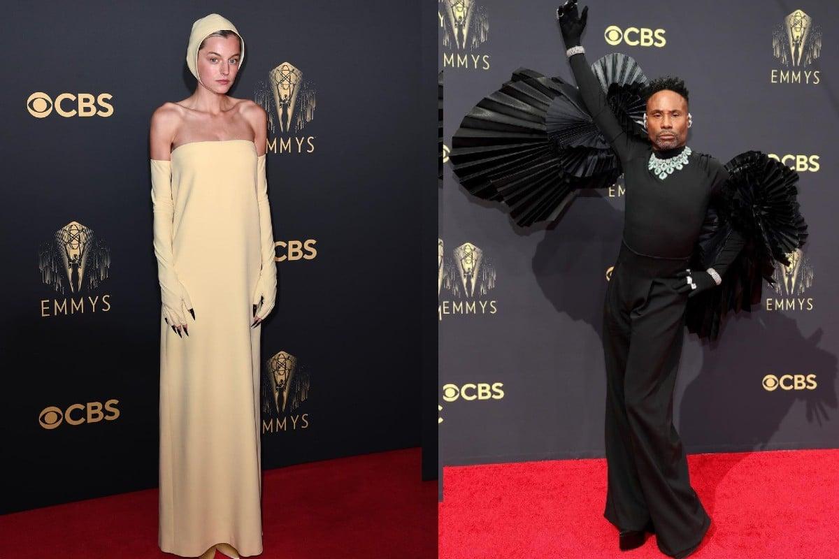 Emmys red carpet 2021