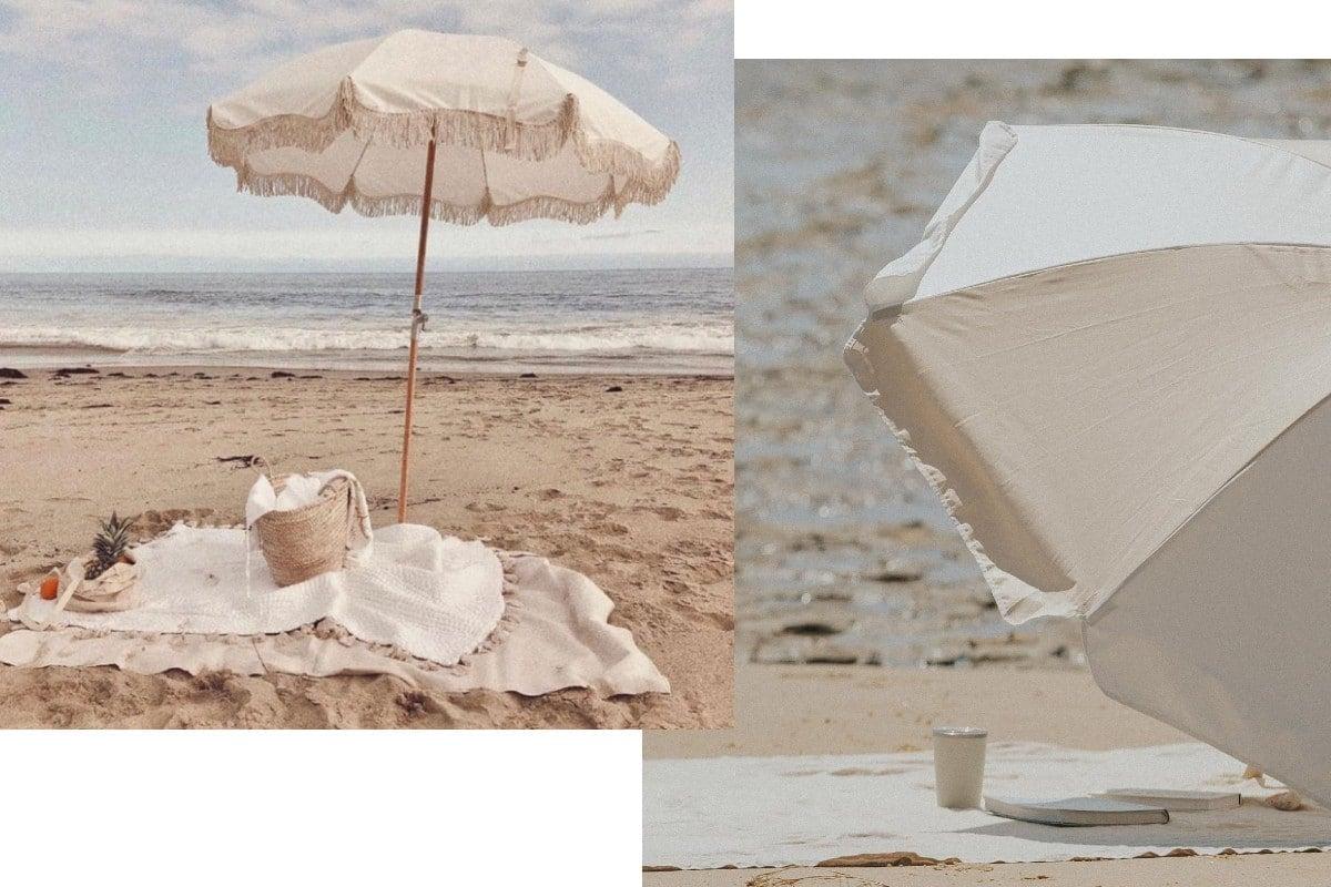 beach umbrella